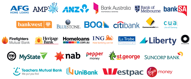 Banks we deal with to help you find a great home loan