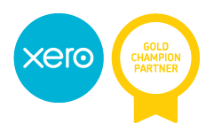 We are Xero Gold Champion Partners