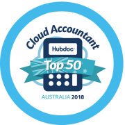 Hub doc Top 50 Cloud Accountant award