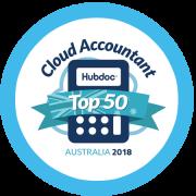 Hub doc Top 50 Cloud Accountant award