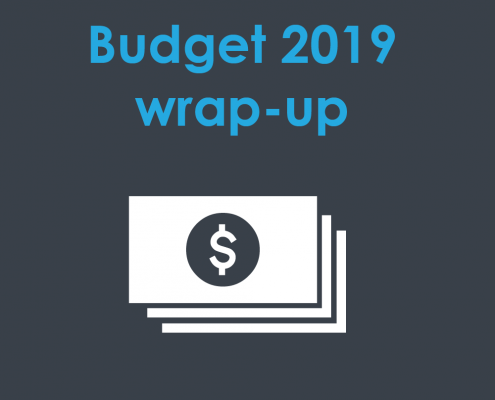 Optimised budget wrap-up 2019