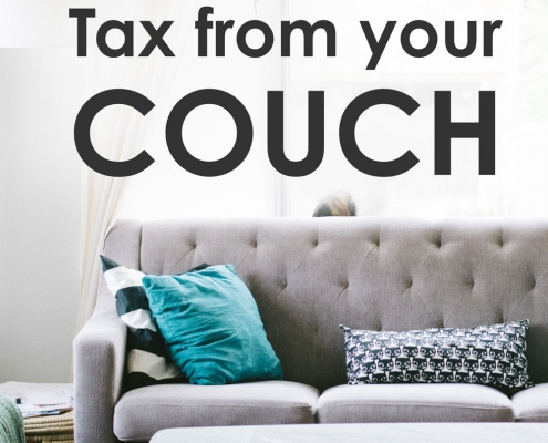 tax from your couch
