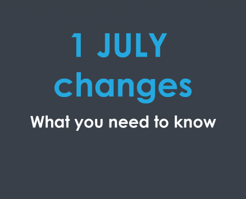 1 July changes from the ATO