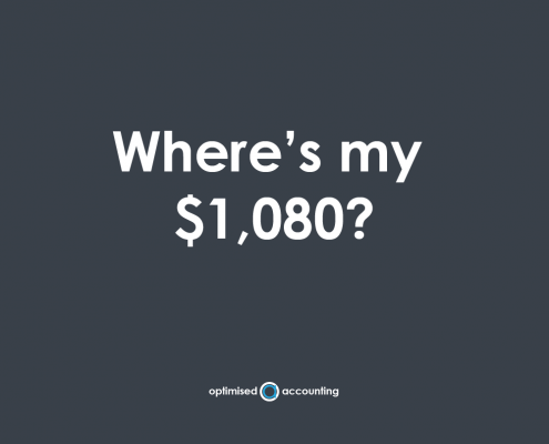 wheres my $1080?