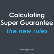 Calculating Super Guarantee