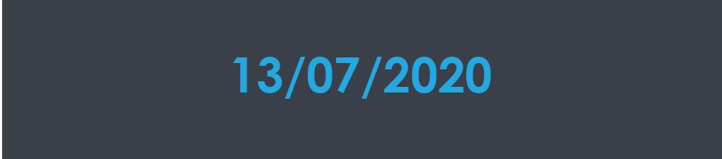 13 july covid update