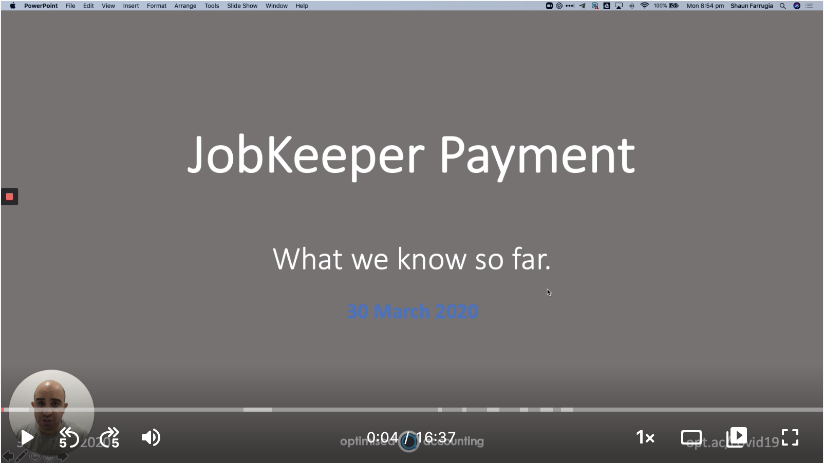 JobKeeper payment explained