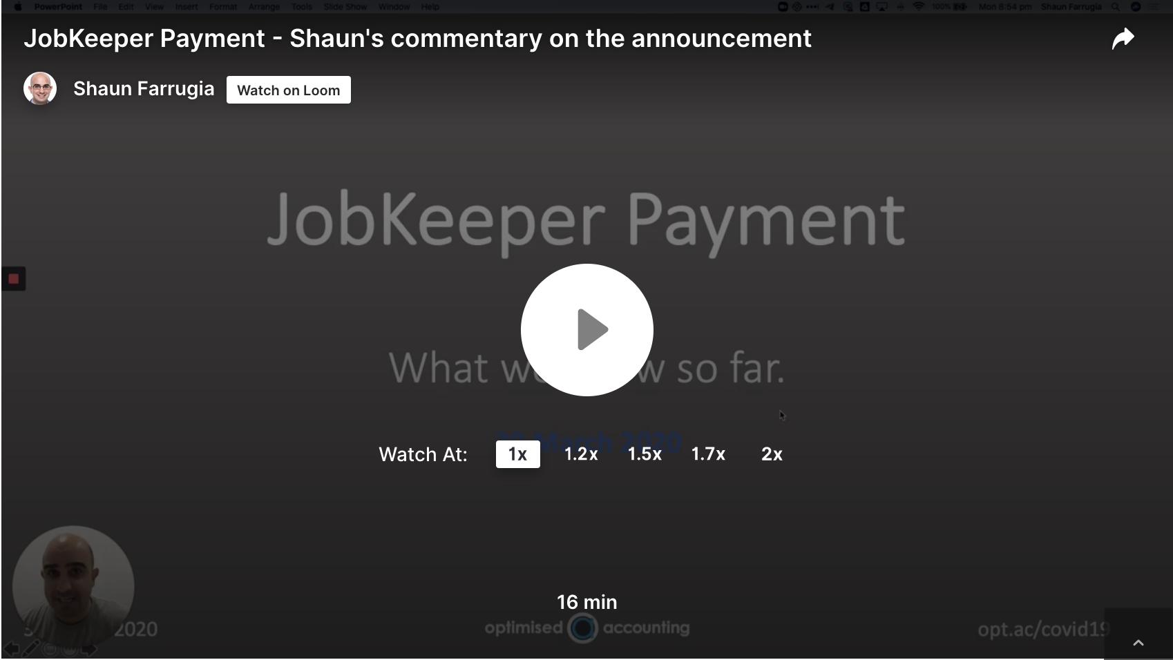 JobKeeper