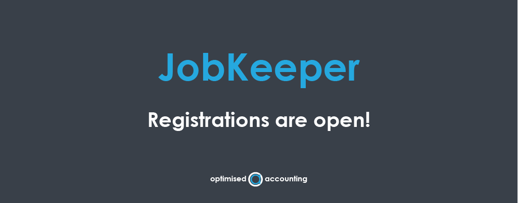 JobKeeper registrations open