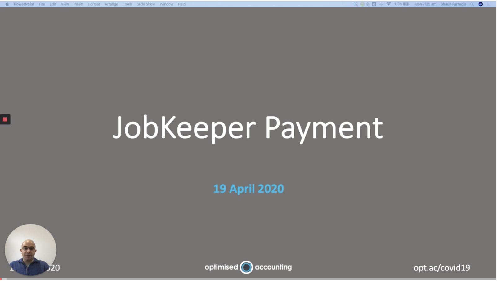 JobKeeper updated video