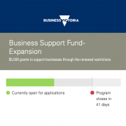 victoria business support fund