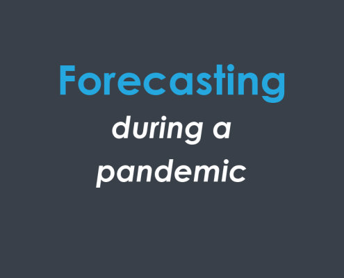 Forecasting during a pandemic