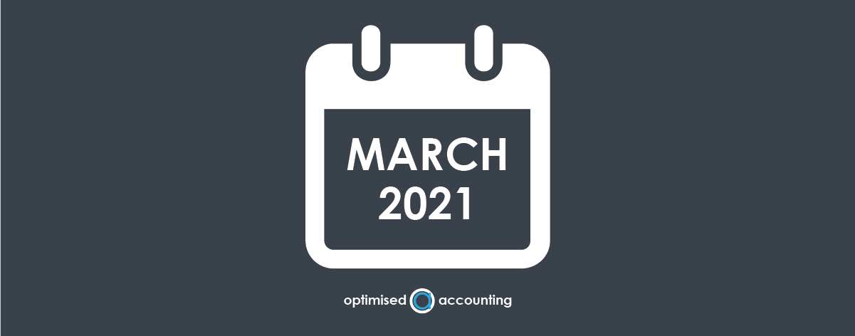 March tax business update