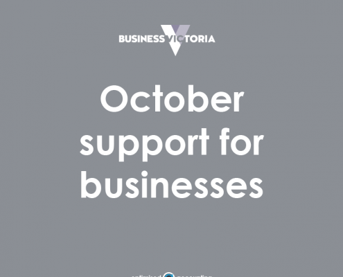 October support for businesses